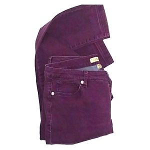 Nine West vintage purple jeans